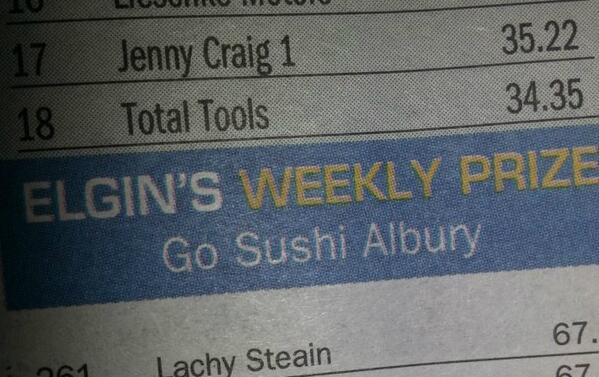 Go sushi albury