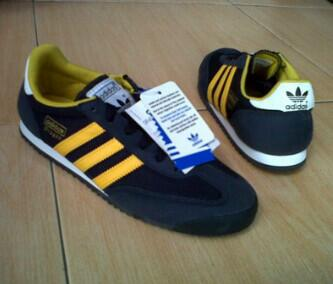 adidas dragon black and blue