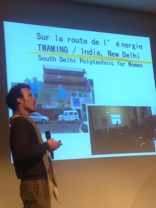 Yves Priem est un #twamer il a voyagé dans le monde en faisant la promotion des énergies renouvelables pic.twitter.com/CDl6IUc7ND