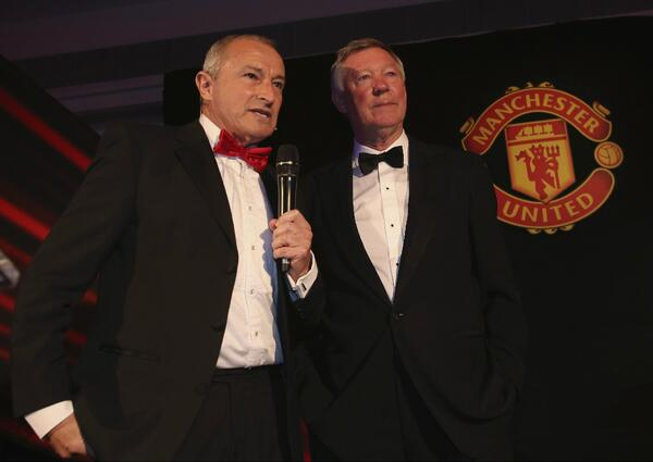 Sir Alex Ferguson gives 2 of his last interviews as Manchester United boss at POTY awards