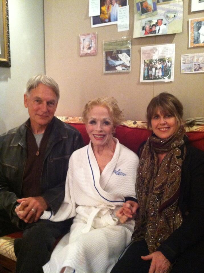 Holland taylor on twitter here he is from the front yow for Are mark harmon and pam dawber still married