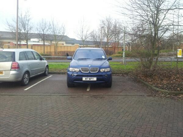 M7 MPY is a crap parker