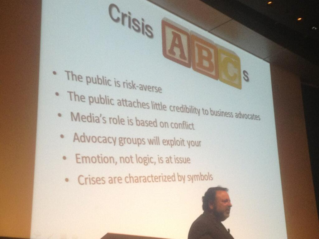 Twitter / evr: Crisis ABC's of @shelholtz ...