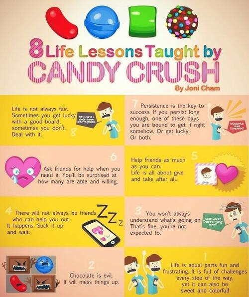 Twitter / MarkAbsher: 8 Life lessons taught by ...
