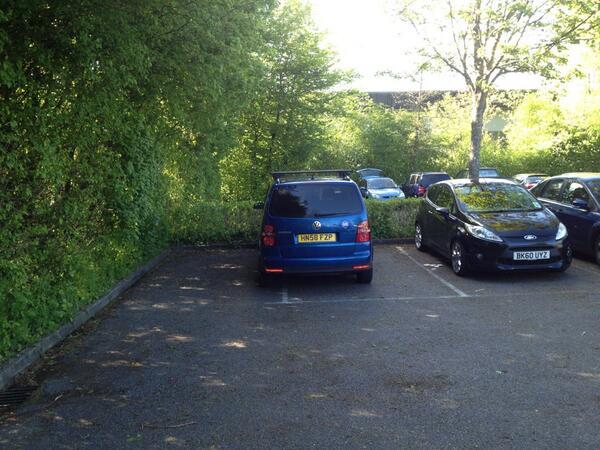 HN58 FZP displaying crap parking