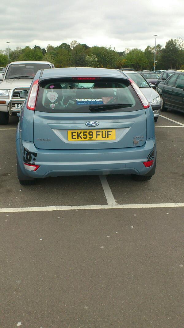EK59 FUF is a crap parker