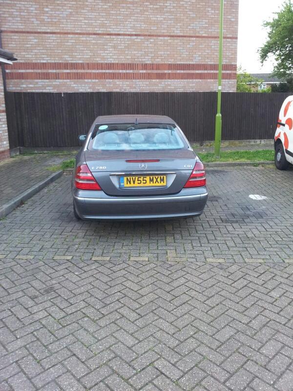 NV55 MXM displaying Inconsiderate Parking