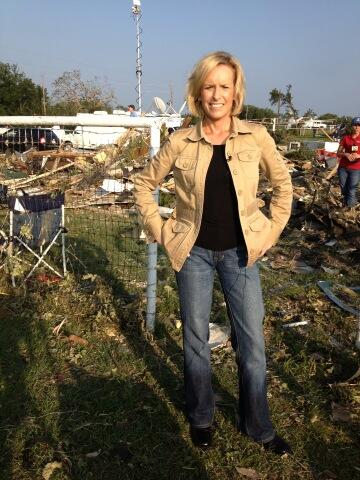 Twitter / randikayeCNN: #texas #tornado scene we are ...