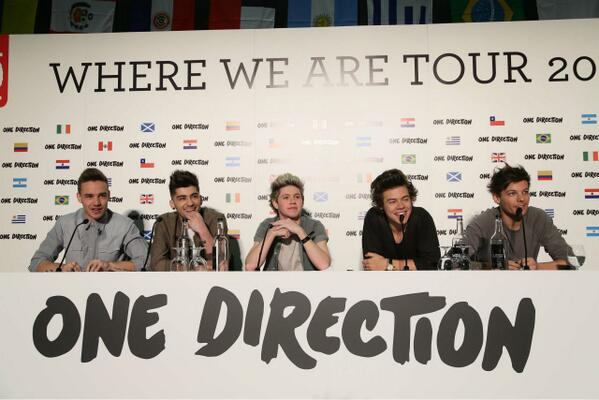 One Direction Announcement: 'Where We Are' Stadium Tour 2014