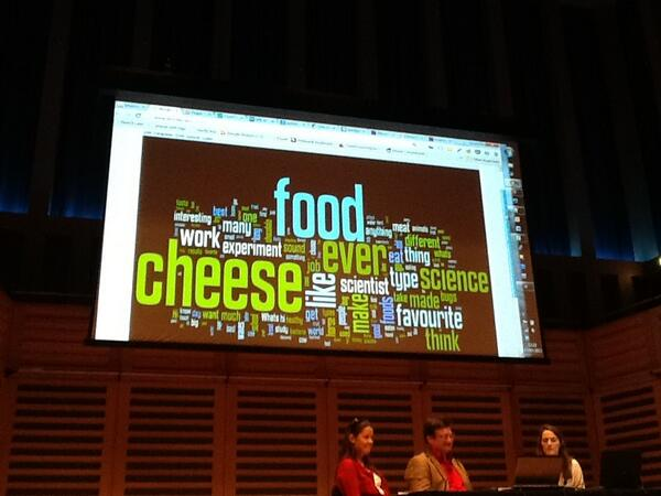 I love Wordle - great word visualisation tool #SciComm13 #onlineengagement pic.twitter.com/BQsgjMTLFM