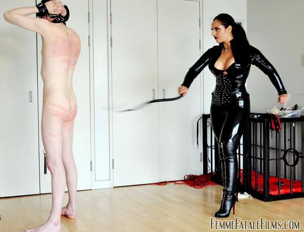 male leather domination movies
