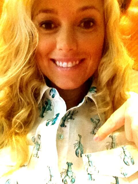 Twitter / ambermac: Bought this lil lobster shirt ...
