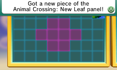 Puzle Animal Crossing New Leaf: Nintendo 3DS