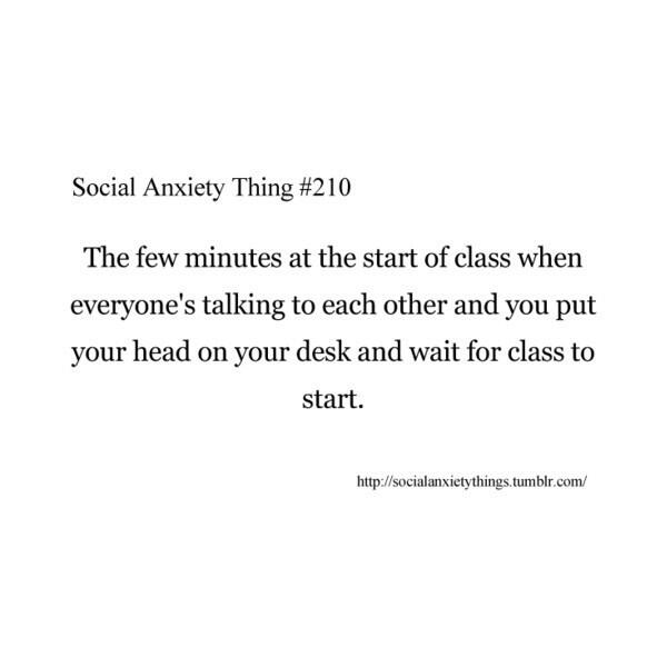 """Sad Quotes About Anxiety: Sad Quotes On Twitter: """"It's A Social Anxiety Thing. Http"""
