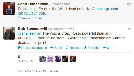 Bob summerwill tweets
