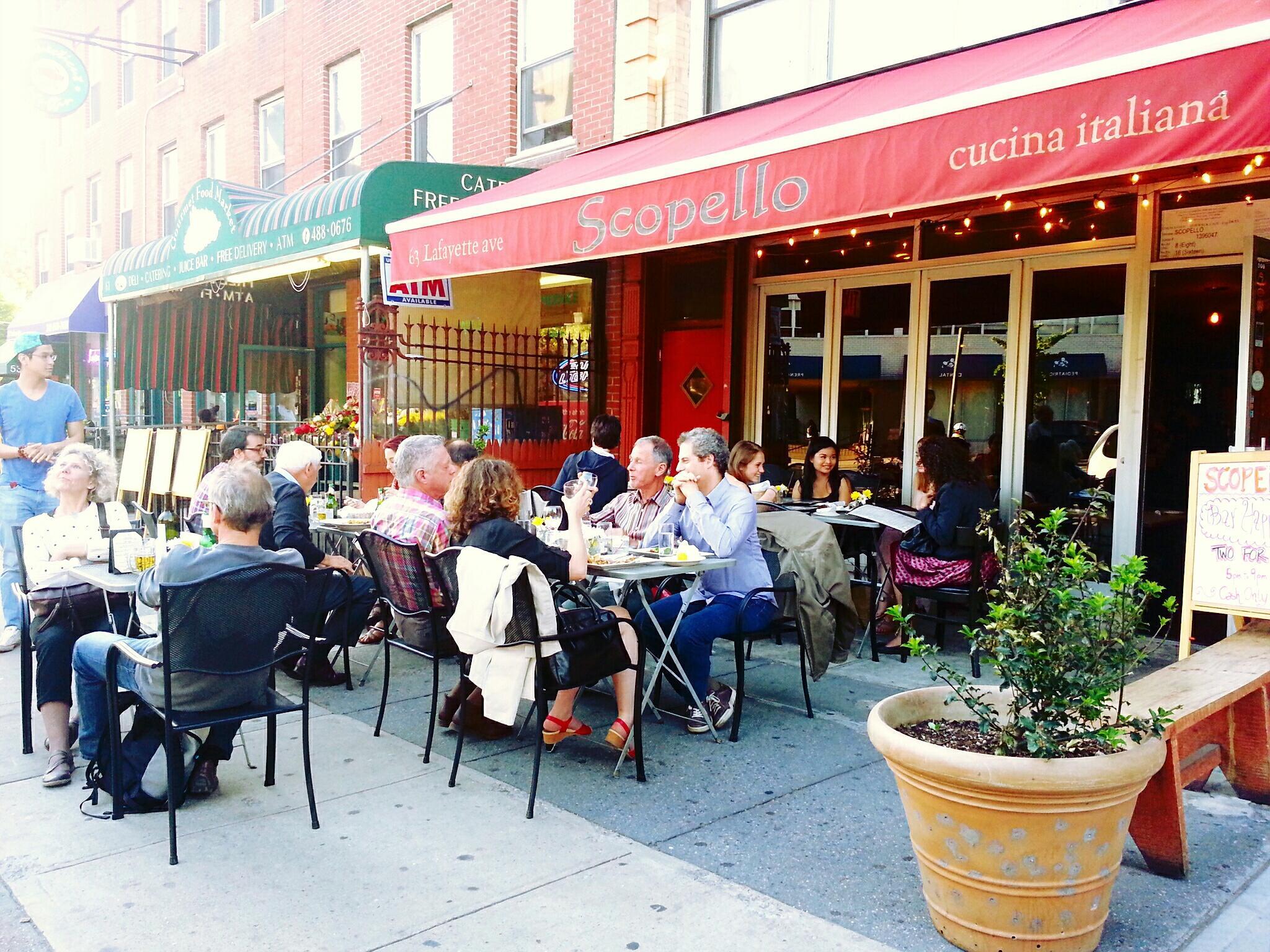 Scopello Restaurant In Brooklyn New York