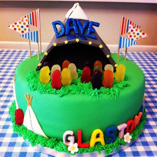 Arlo Moe On Twitter Glastonbury Birthday Cake For Dave Http