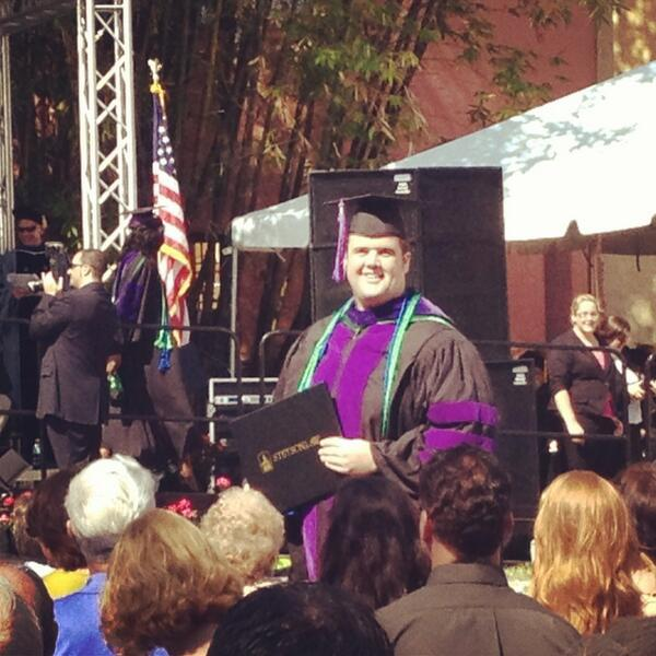 My brother's a Stetson Law graduate! Congrats @JohnNoonan61!!! @stetsonlaw http://pic.twitter.com/RTMFjdPkWy