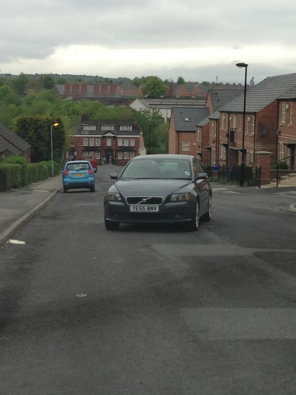 YE55 BNV is an Inconsiderate Parker