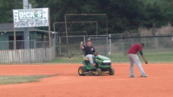 baseball field dragger