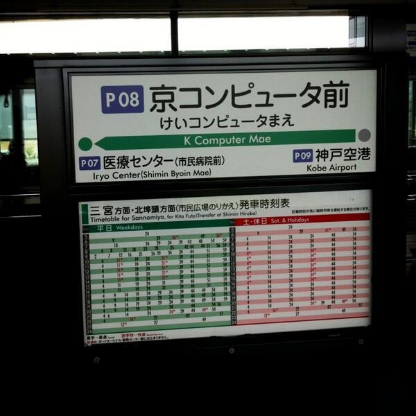 京コンピュータ前、という名前の駅。