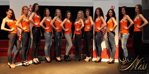 Právě jsme vybrali finalistky Miss středních škol ČR 2013 #misshighschool http://t.co/XTmtXqNy0Z