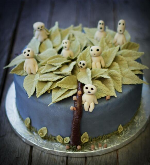 The Cinnamon Snail On Twitter Another Tree Spirit Cake We Made