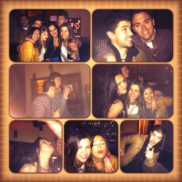 Faltaba un collage de la noche jejeje @dridri_88 @19Varela @SGutiF @kjhgfcd Pablo y Rebe ☺👍 #cheers