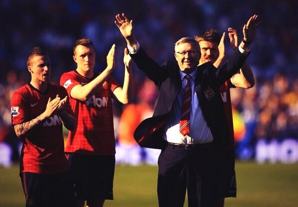 Madness! Sir Alex Ferguson signs off with a 5 5 draw at West Brom (Pictures & video)