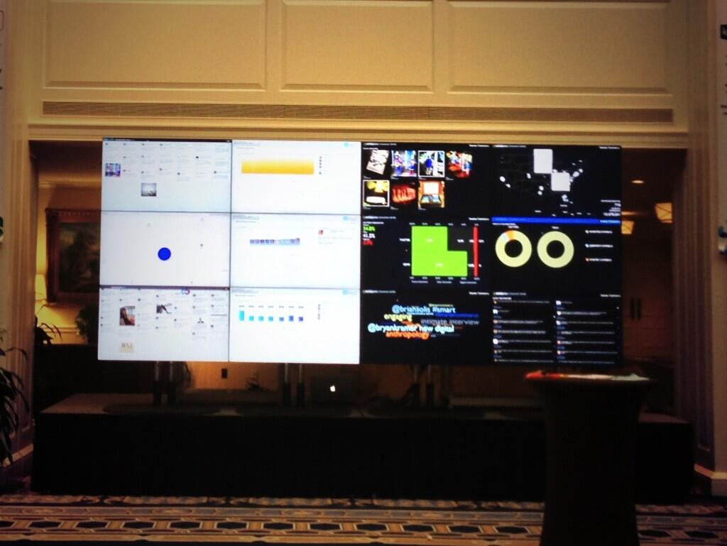 Twitter / bryankramer: Social Command Center is up ...