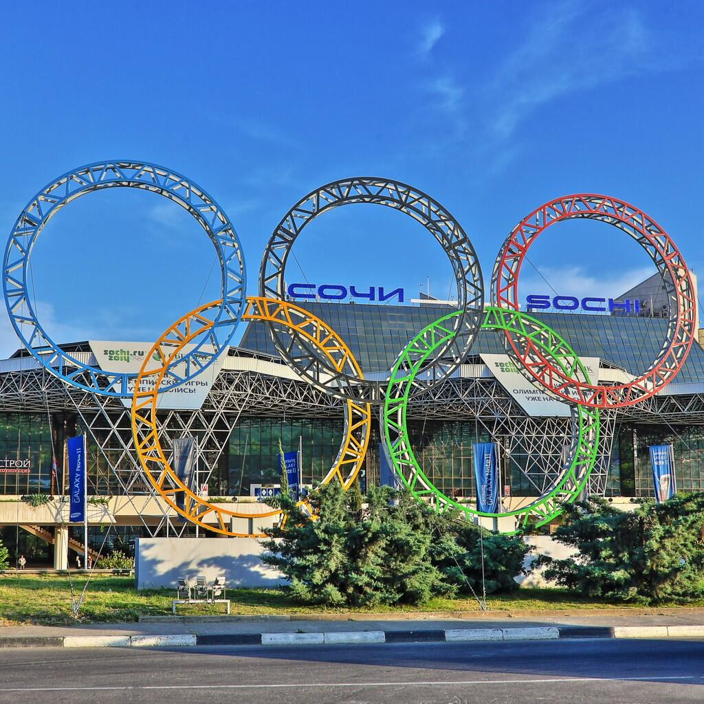 Twitter / Sochi2014: #sochi2014 #olympic rings in ...