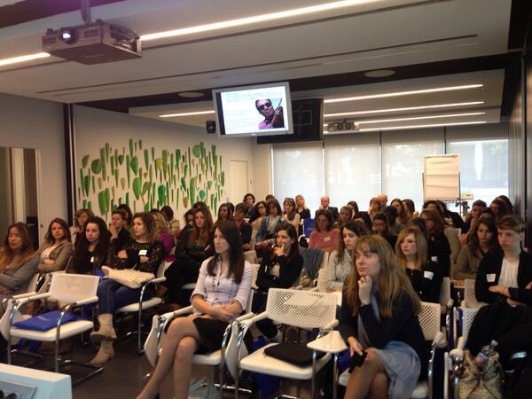 La nostra giornata #girlsinict e' iniziata!! pic.twitter.com/PP7laqkKYV