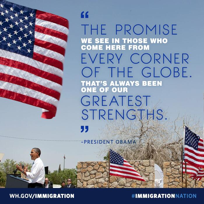 Twitter / whitehouse: We're a nation of immigrants-and ...