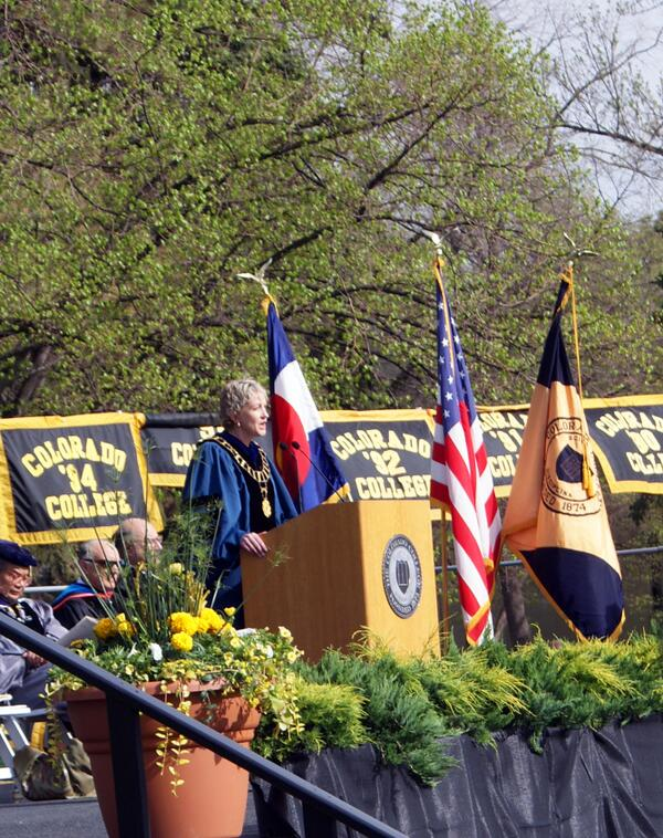 "Congrats to all grads! ""@ColoradoCollege: Pres. Tiefenthaler addresses crowd at #ColoradoCollege2013 Commencement pic.twitter.com/ZJd2llV75l"""