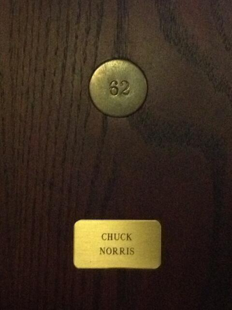 Look who locker I found at the golf course!! I knew he played golf!! Ha! http://t.co/gVG0bg5SFd