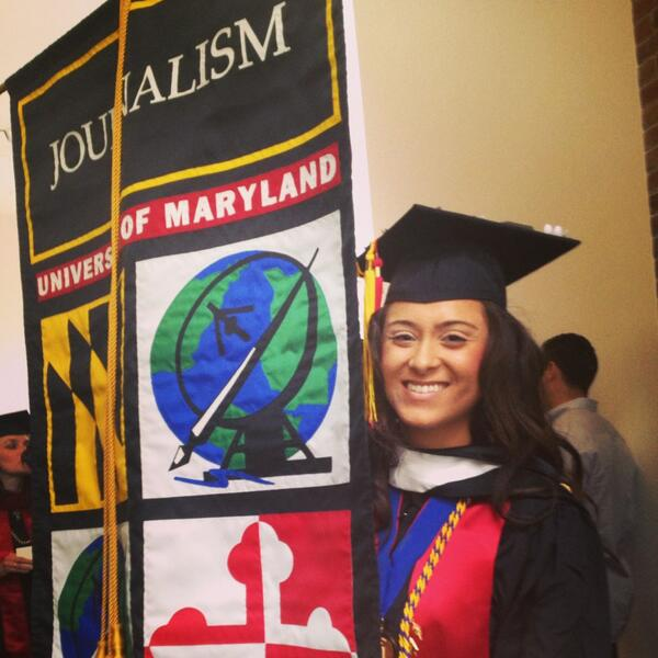 Graduation day @merrillcollege @AnaNamaki leading the #merrillUMD students @UofMaryland pic.twitter.com/CtuBdLqTKh