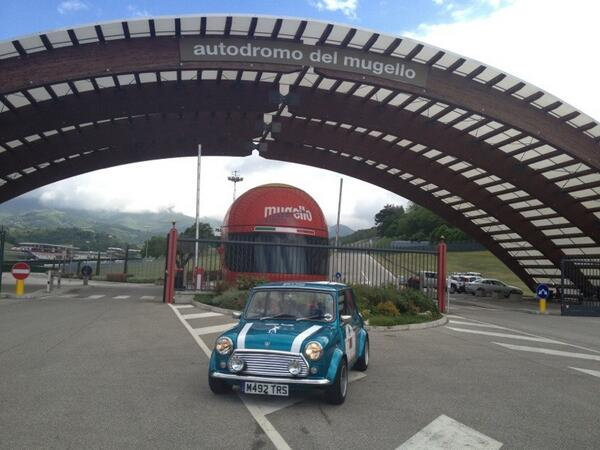 #IJOB13 at Mugello. Aberdeen to Rome and back again was the route of 5 Teams. Thanks Aberdeen. We had great fun! pic.twitter.com/hap02DJ5mw