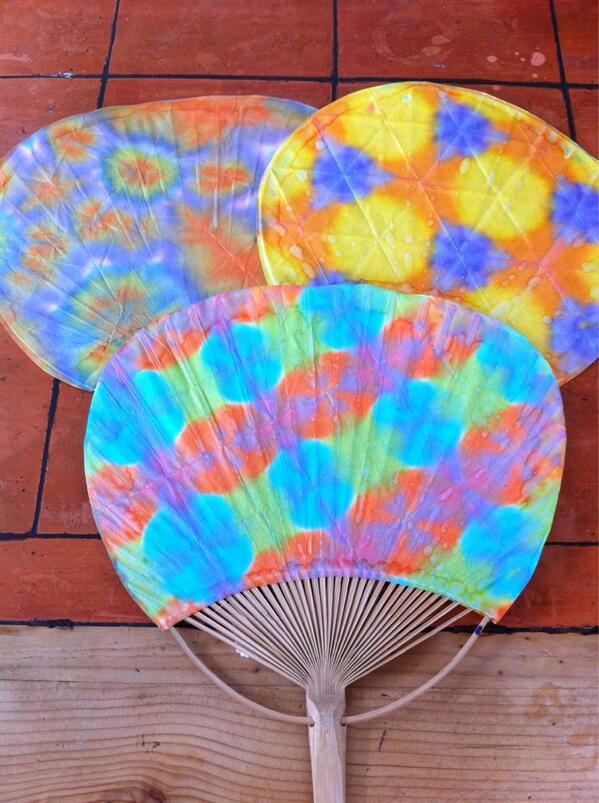紙や布を染めて遊ぼう♡子供と楽しい染めもの遊び3選♪