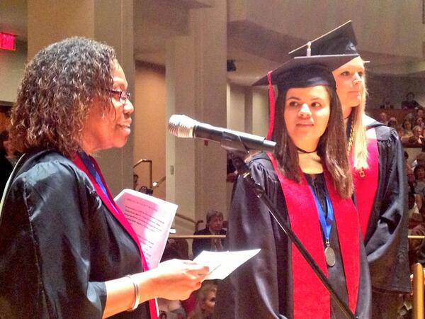 Congrats to all of the graduates including @Julia_Weaver @merrillcollege #merrillUMD pic.twitter.com/t33fdxa1VT