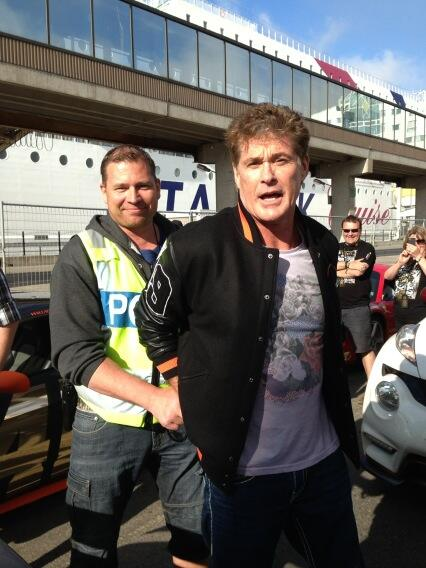 Twitter / DavidHasselhoff: Havin a laugh with the Swedish ...