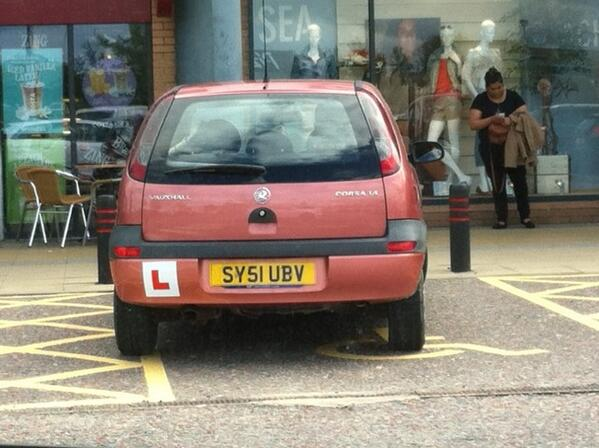 SY51 UBV is an Inconsiderate Parker