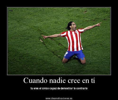 Frases De Futbol On Twitter Cuando Nadie Cree En Ti