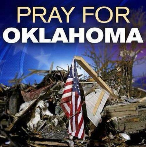 Our thoughts and prayers are with #Oklahoma today. #PrayForOklahoma pic.twitter.com/g4ZGkBxzi3