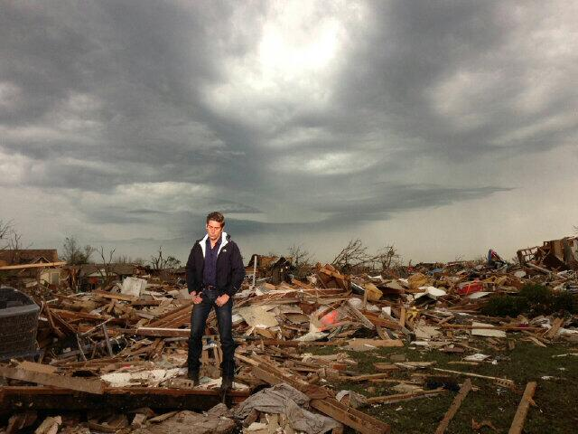 Twitter / DavidMuir: This pic from @Ginger_Zee while ...