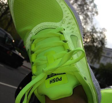 Victoria Beckham's Sneakers By Nike Are A Pretty Shocking Sight (PHOTO)