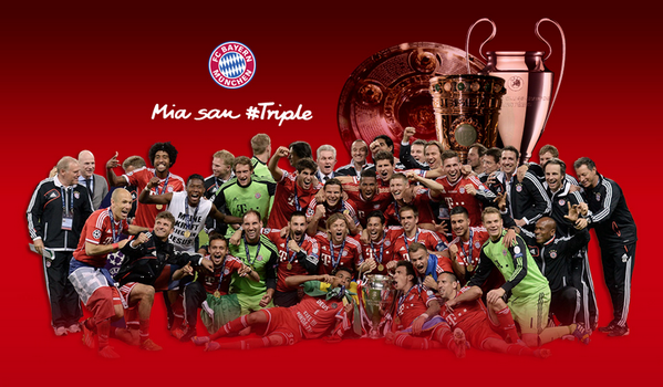 Fc bayern mnchen on twitter mia san triple now you can show it fc bayern mnchen on twitter mia san triple now you can show it get your fcbayern treble wallpaper for your screen httptfq1emh3jo4 voltagebd Images
