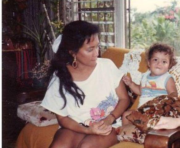 Bernadette Hernandez at that time when Bruno was a little cute baby. http://t.co/Dhrd3L1wAg