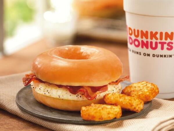 Donut Bacon Sandwich Bacon Sandwich Will Become