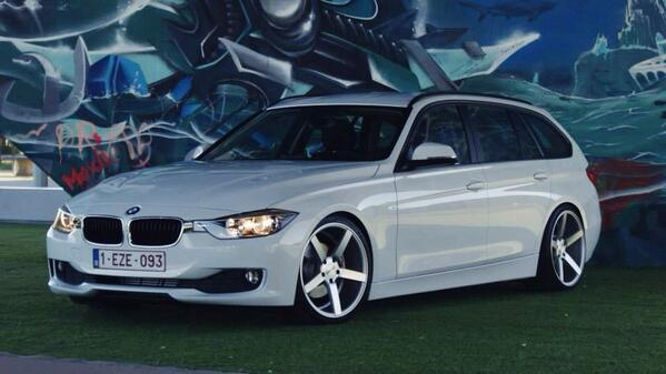 Wagonation On Twitter Bmw F30 Wagon Vossenwheels What S Not To
