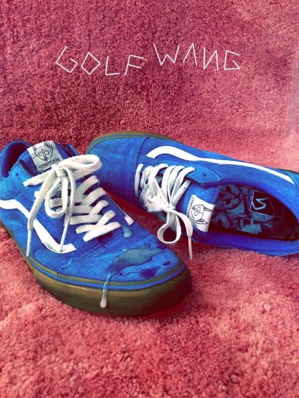 1051b35df8fe golf wang x vans yes cats inside the shoe